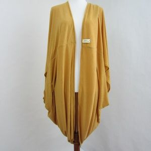 The Cover in Mustard - Multipurpose Cardigan Wrap
